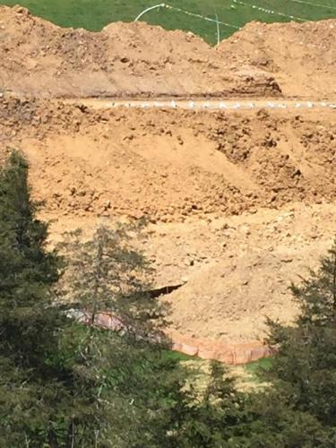 Indian Creek Blast Site